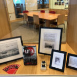 Mass. Maritime Academy display for Lt. Robert Rowe
